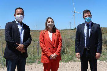 Villarino inauguró un nuevo Parque Eólico.