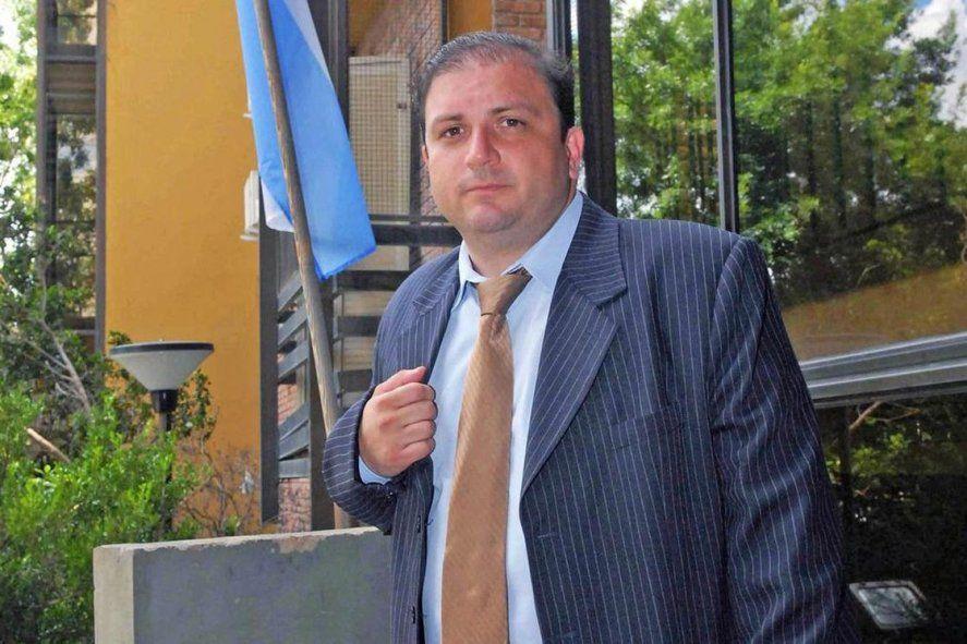 El fiscal suspendido Juan Ignacio Bidone