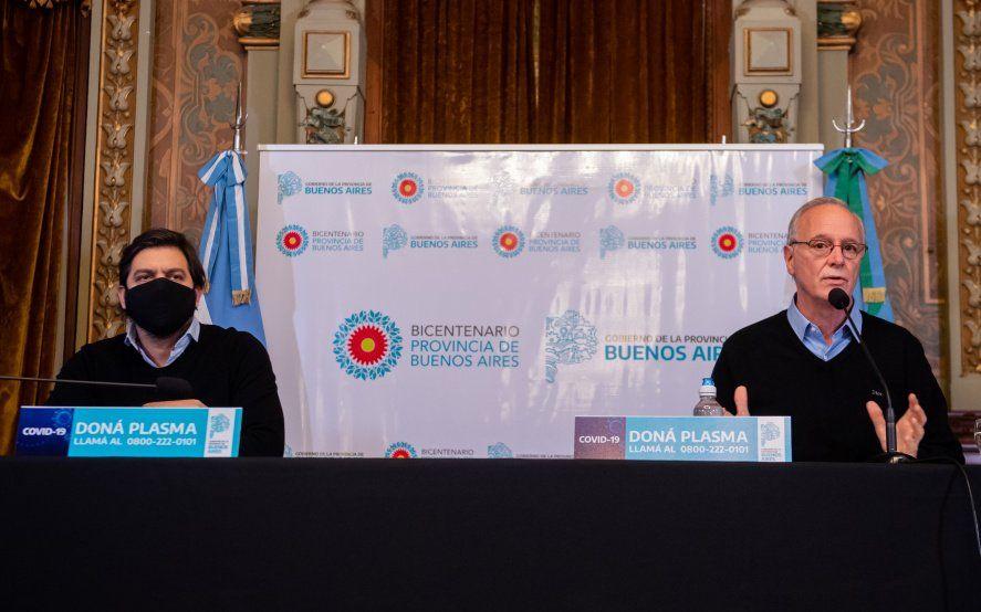 Bianco y Gollán insistieron con evitar reuniones sociales ante el avance de casos