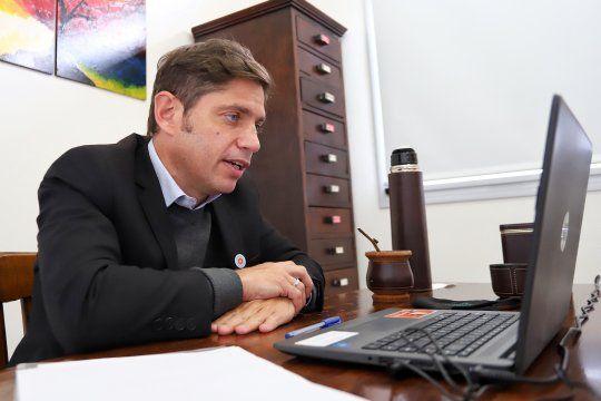 Kicillof participó de la reunión entre el presidente y gobernadores: hay preocupación por la nueva cepa