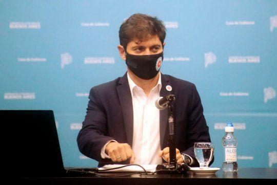 Kicillof cruzó a la oposición por no coordinar restricciones