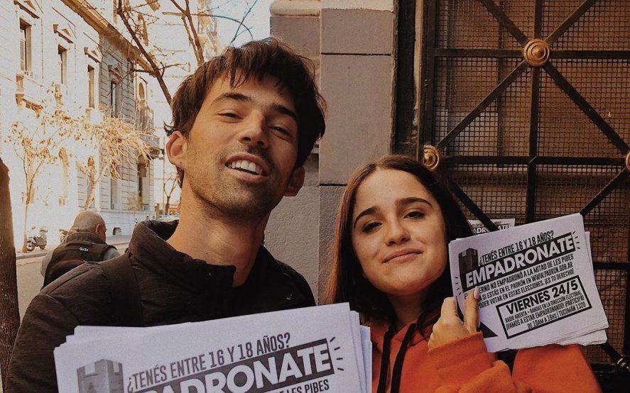 Voto joven: Artistas, políticos y periodistas convocan a un empadronamiento masivo