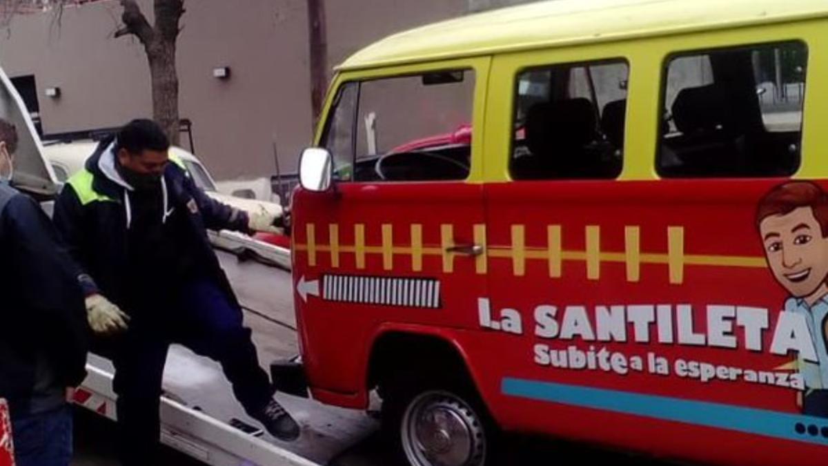 Se quedó La Santilneta de Diego Santilli y explotaron las redes sociales.