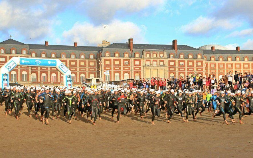No hay más cupo: El domingo se corre el Triatlón Olímpico en Mar del Plata