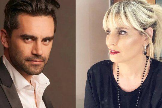 Gonzalo Heredia y Romina Manguel se cruzaron en Twtiter por el uso de barbijos en TV