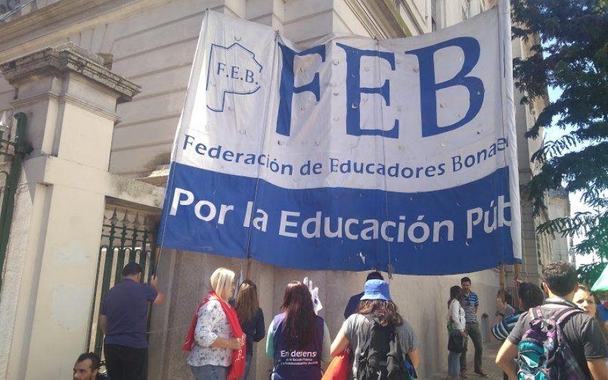 Arranca la segunda paritaria docente y los gremios no ceden: reclaman el sueldo perdido de 2018
