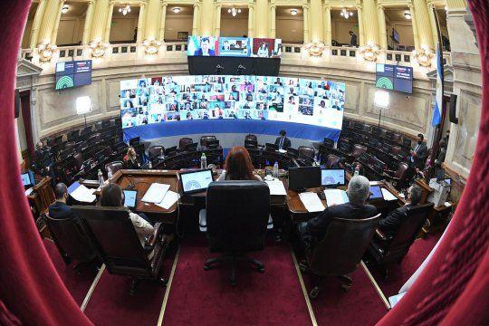 Los senadores del FdT le pidieron al FMI abstenerse de seguir condicionando al país
