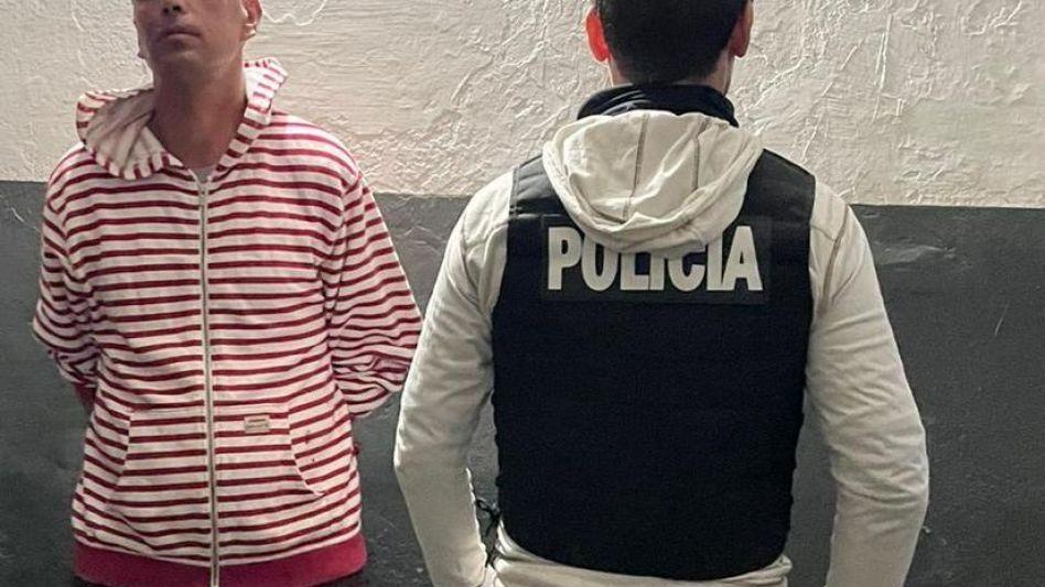 El hombre de 33 años fue detenido cerca de la terminal de ómnibus