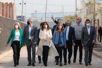 Tras la polémica, Cristina Fernández respaldó al presidente