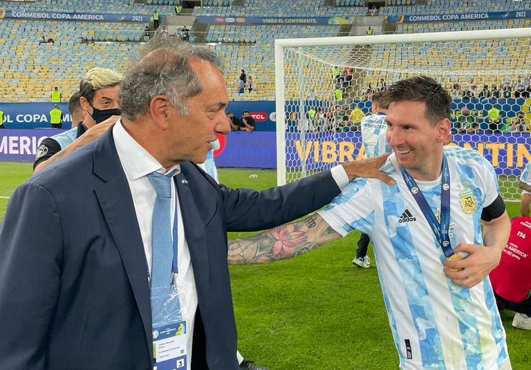 cual fue el rol de daniel scioli tras el escandalo de argentina-brasil