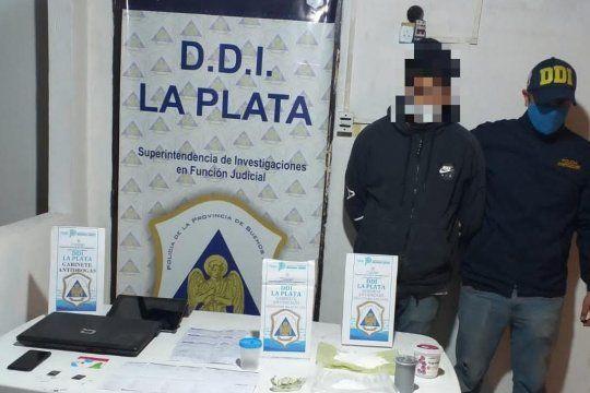 El joven acusado de comercializar drogas por Instagram cayó en La Plata