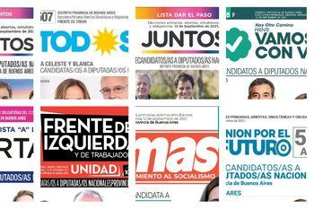 Elecciones 2021: los candidatos de los principales frentes en la Provincia de Buenos Aires