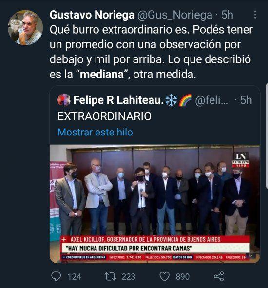 El pasatiempo favorito del periodista de cine Gustavo Noriega es burlarse de aquellos funcionarios que no comparten su ideología