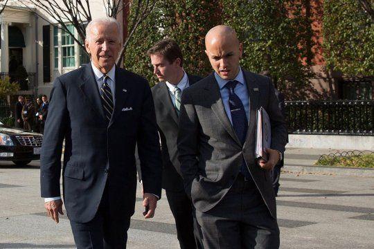 Alberto Fernández recibió a un funcionario militar del presidente de Estados Unidos, Joe Biden