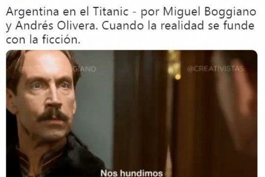 ¿argentina se hunde como el titanic? la parodia que anticipa la candidatura de vidal
