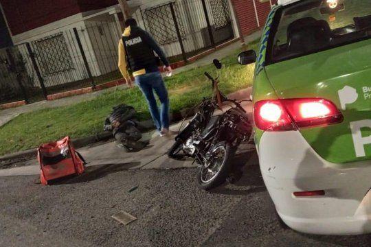 Un adolescente de 17 años fue detenido en La Plata acusado de ser un falso repartidor