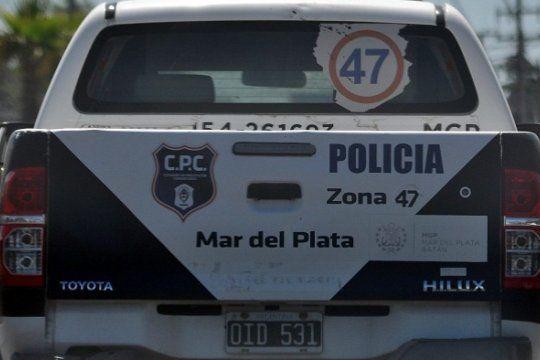 El robo fue en la casa de unos jubilados en calle Alvarado al 2630 en Mar del Plata
