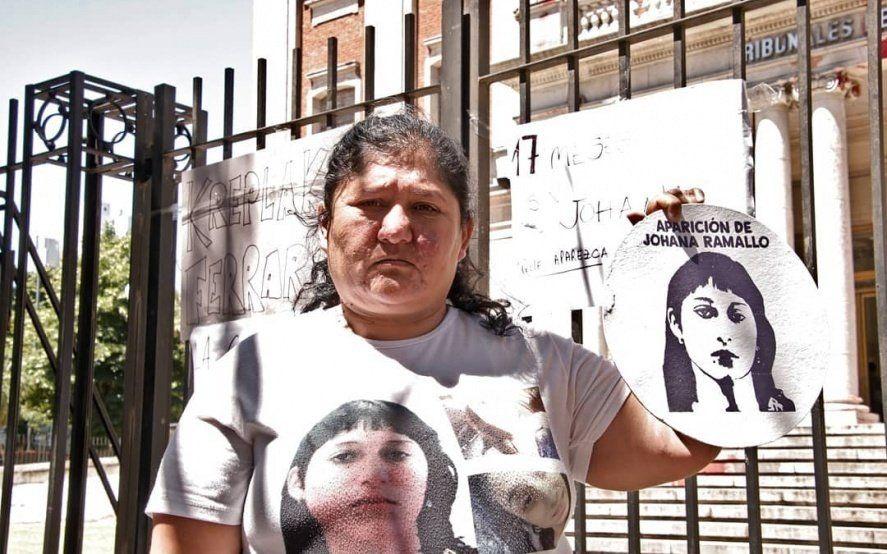 """Marta Ramallo: """"Los restos encontrados en Palo Blanco el año pasado son de Johana"""""""