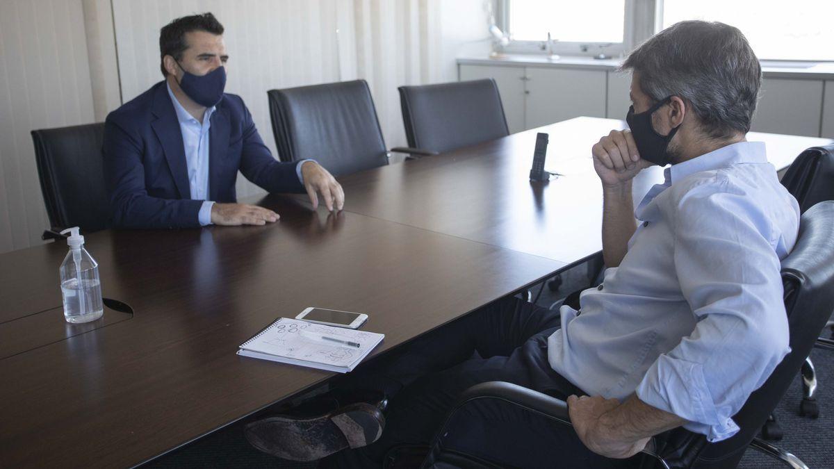 El programa Gas Solidario contó con el anuncio del secretario de Energía, Darío Martínez, y el ministro de Deportes y Turismo, Matías Lammens
