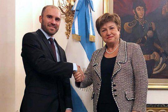 El ministro Martín Guzmán es quien lidera las negociaciones con el FMI.