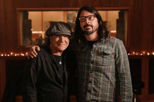 Brian Johnson y Dave Grohl opinaron sobre el público argentino.