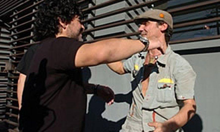 Diego Maradona y Manu Chao
