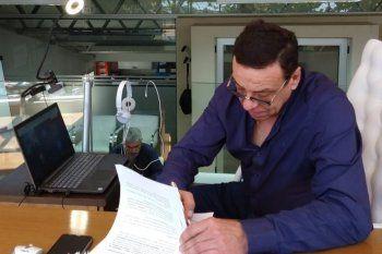 El intendente de Zárate, Osvaldo Cáffaro, contrajo coronavirus