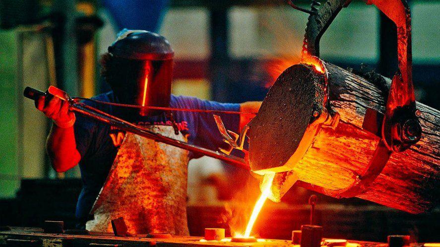 La actividad metalúrgica bajó en abril