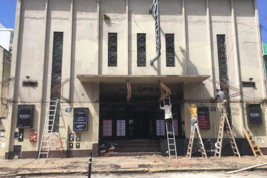 El Teatro Sala Opera de la ciudad de La Plata se renueva