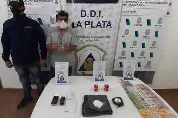 Josecito fue detenido en 54 y 142 acusado de vender drogas