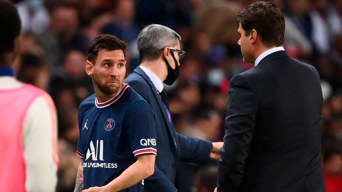 Qué querés que te diga: la cara de Messi ante su sustitución recorrió el mundo entero.