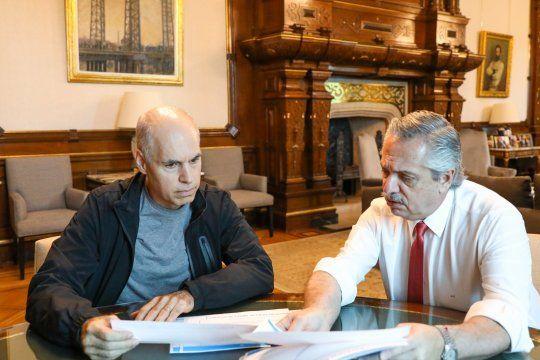 Alberto Fernández y Horacio Rodríguez Larreta, en la opinión de la gente