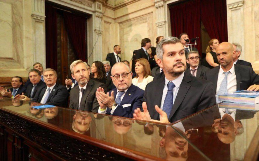 Peña adelantó que el oficialismo dejaría de llamarse Cambiemos tras el anuncio de la fórmula presidencial