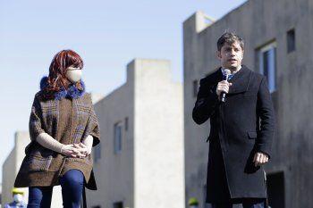 Axel Kicillof y Cristina Fernández de Kirchner.
