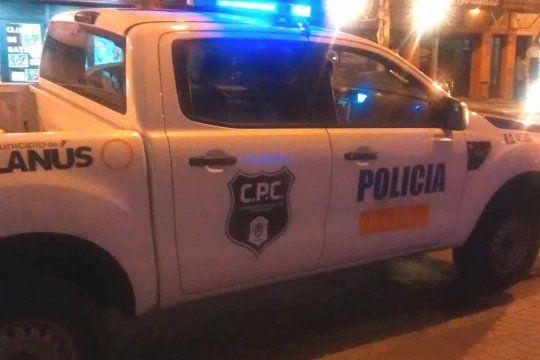 Al policía asaltado lo socorrieron del Comando de Patrullas de Lanús