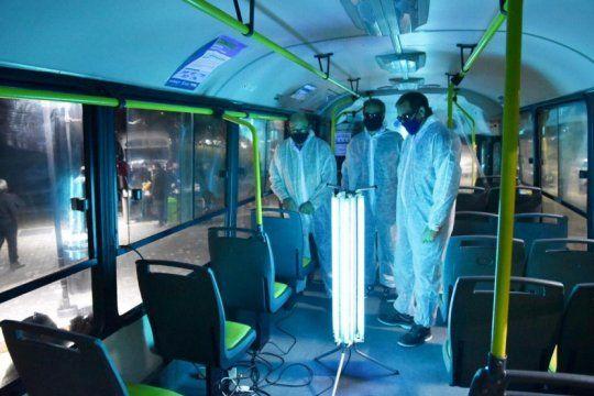 El sistema funciona a través de una lámpara germicida de radiación UV-C (Municipalidad de La Plata)