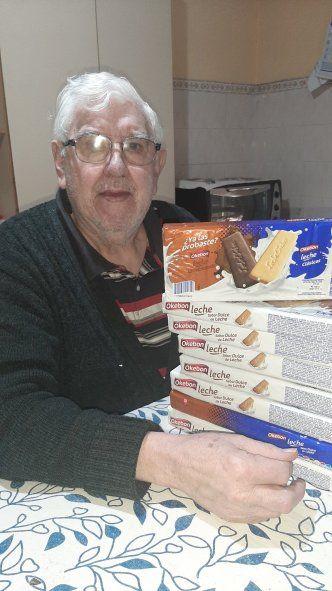 Okebón le envió galletitas a Jorge Mendieta tras conocer su historia