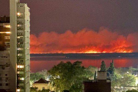 incendios en el delta parana: defensores del pueblo se suman a la investigacion
