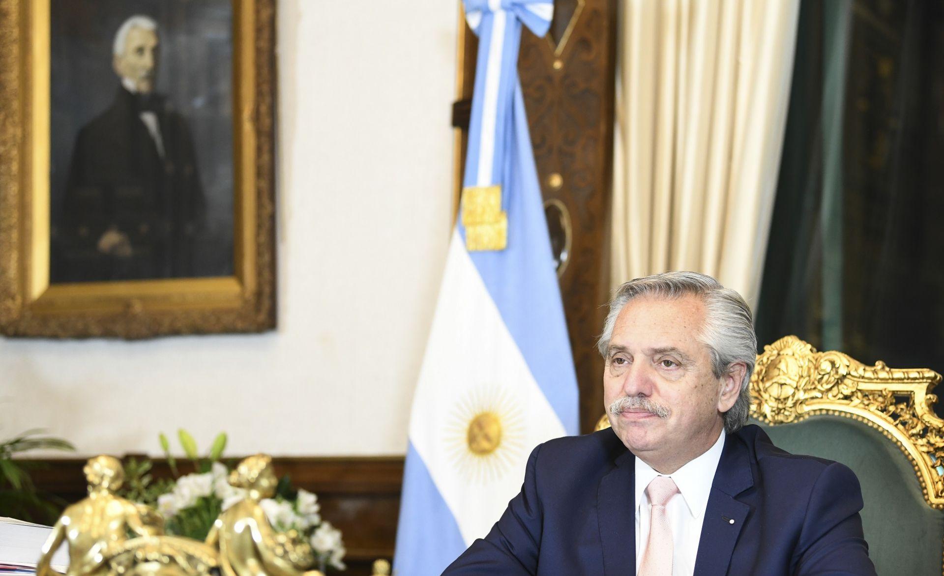 Alberto Fernández intervino en la Conferencia Anual de la CAF