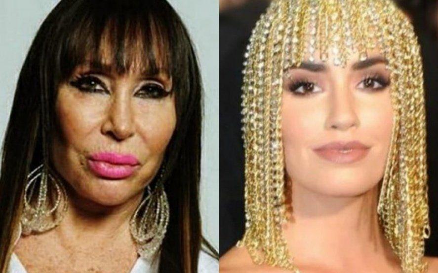 Moria Casán acusó a Lali Espósito de copiarle la peluca que usó en los premios Gardel