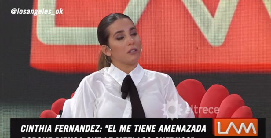 Cinthia Fernández se quebró hablando de Matías Defederico