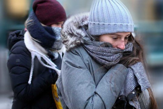 Bahía Blanca ocupó el sexto lugar en el raking del frío con -6.9 grados de sensación térmica.