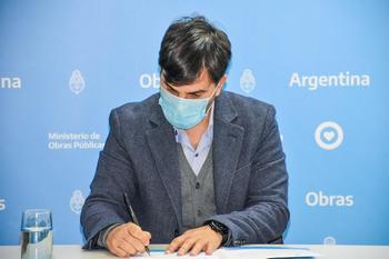 Francisco Echarren, intendente de Castelli, se suma al gobierno nacional