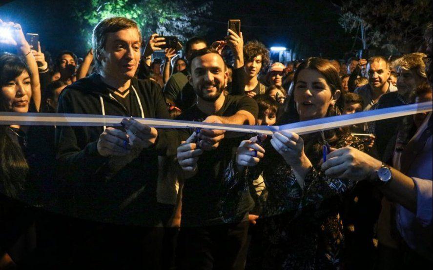 Máximo Kirchner se mostró con el Movimiento Evita para curar las heridas de 2017