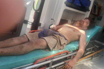 San Nicolás: violenta represión contra ambientalistas