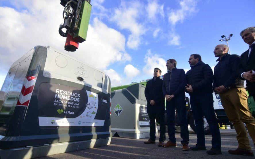 Garro presentó el nuevo sistema de contenerización de residuos: cómo y dónde empezará a funcionar