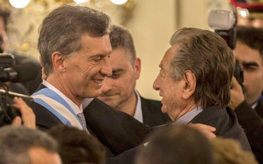 Quiénes saludaron a Macri tras el fallecimiento de su padre