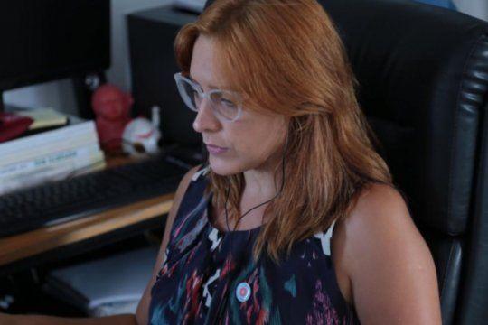 La minsitra de Trabajo, Mara Ruiz Malec, pidió a las pequeñas y microempresas que se acerquen al Estado.