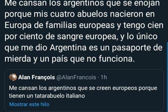 El debate sobre los abuelos europeos
