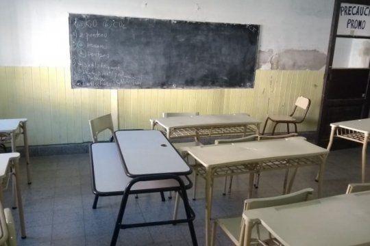 el gobierno bonaerense ratifico que descontara los dias a docentes que realicen paro